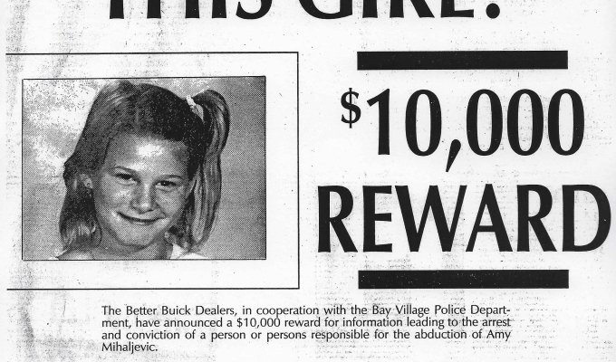 The Better Buick Dealers Offer a Reward for Information on Amy: 11/19/1989
