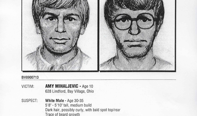 Original Suspect Composite Sketch Press Release: October, 1989