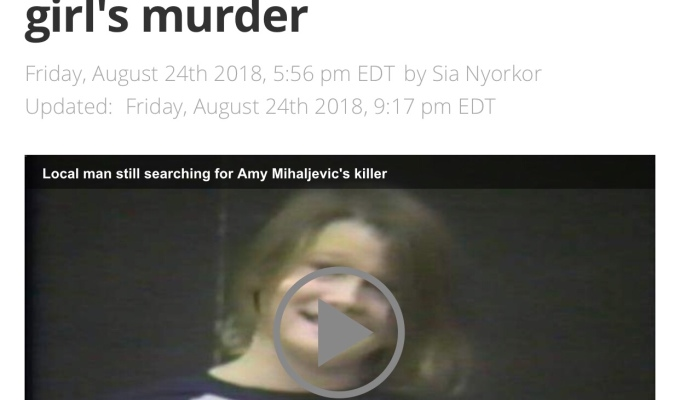 'Who killed Amy Mihaljevic?' New podcast hopes to solve girl's murder – Cleveland19 — News, Weather, Sports for Northeast Ohio – Cleveland 19 News Cleveland, OH